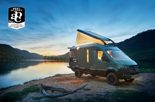 Press picture Automotive Brand Contest 2020 für Hymer VisionVenture