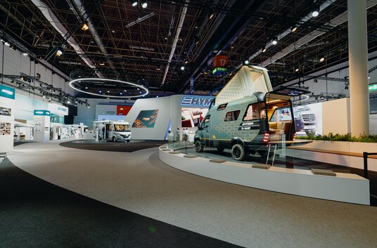 Press picture Caravan Salon 2020 | HYMER VisionVenture